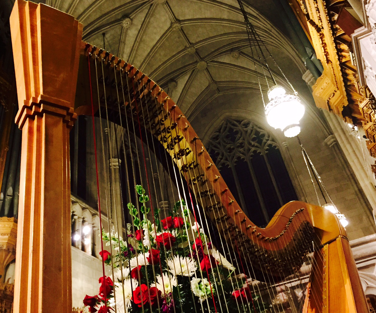 Duke Chapel - Harp Photo 4